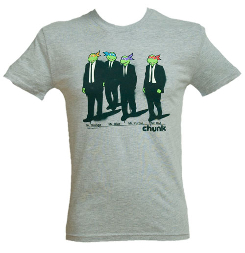 Chunk men grey reservoir turtles t shirt from chunk for Turtle t shirts online