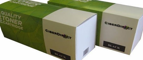 CiberDirect 2 CiberDirect Compatible Laser Toner Cartridges For Use With HP LaserJet Pro MFP M125nw (1,500 Pages Each).