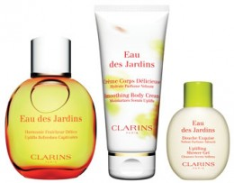 clarins eau des jardins captivating luxuries review compare prices buy online. Black Bedroom Furniture Sets. Home Design Ideas