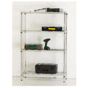 4 Shelf Boltless Wire Shelving