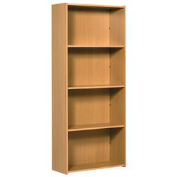 Office Furniture Large Bookcase - Beech