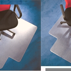 Chair Mat Rectangular Low-Medium 2.3mm