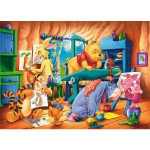 Clementoni Winnie The Pooh The Artists 40 Piece Floor Puzzle