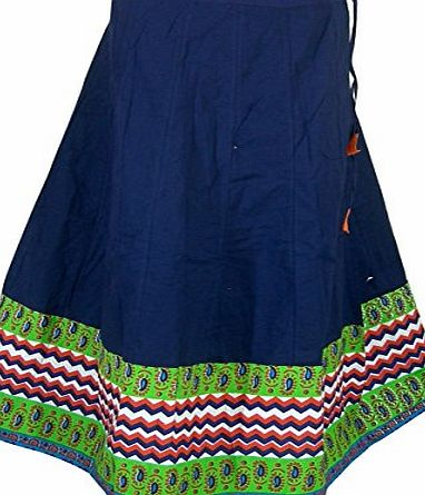 ClothesnCraft Designer Print Skirt Indian Cotton Dresses for Girls