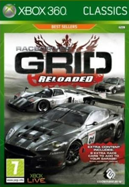 Race Driver Grid Reloaded Xbox 360