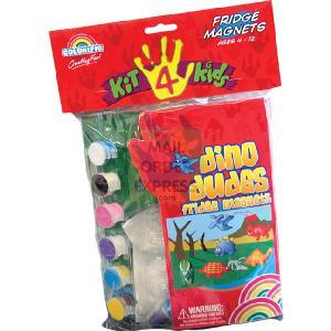 Colorific Kits 4 Kids Dinosaur Magnet Making