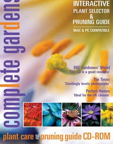 Complete Gardens CD-ROM Ltd Interactive 3,000 Plant Selector, gardening advice and pruning guide encyclopaedia (PC/Mac CD)