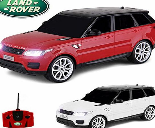 Comtechlogic CM-2216 Official Licensed 1:18 Range Rover Sport Radio Controlled RC Electric Car Ready To Run EP RTR (RED)