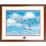 Signed Photo With Red Arrows