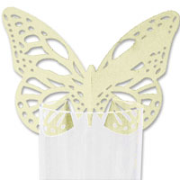 Iory lasercut butterfly place card pk10