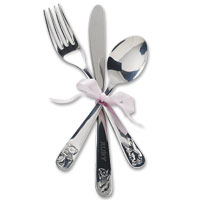 Confetti my first personalised cutlery set