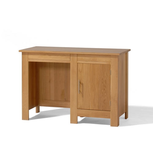 Contemporary Oak Home Office Furniture Contemporary Oak Single Pedestal Desk Review
