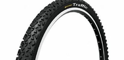 Traffic 26` black tyre with