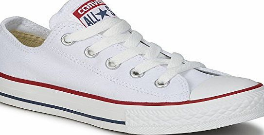 Converse All Star Low White Canvas - 5 UK