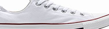 Converse All Star Low White Canvas - 7 UK