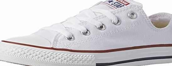 Converse Chuck Taylor All Star Core Ox, Unisex Kids Trainers, Optical White, 2 UK (34 EU)
