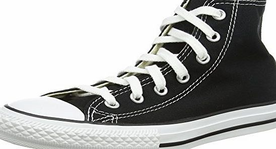 Converse Chuck Taylor All Star Hi , Unisex Kids Trainers, Black, 2 UK (34 EU)