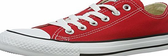 Converse Chuck Taylor All Star, unisex-adult Trainers, Red, 7 UK (40 EU)
