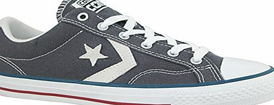 Converse Star Player Ev Ox Grey Mens Trainers