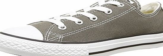 Converse Unisex-Child Chuck Taylor All Star Season Ox Trainers, Charcoal, 2 UK