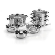 Cook It 5 piece Stainless Steel Pan Set