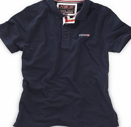 Cool Dog K9 Extreme Mens Designer Outdoor Casual Polo Shirt - Large (Navy)