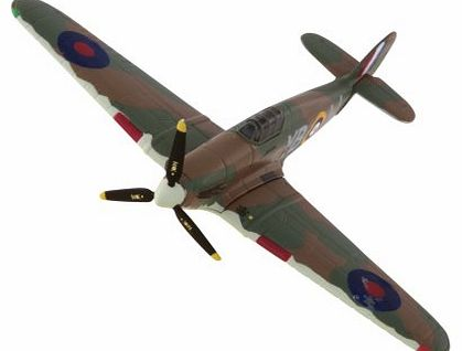 CS90588 Battle of Britain Memorial Flight Hawker Hurricane WWII Military Die Cast Aircraft