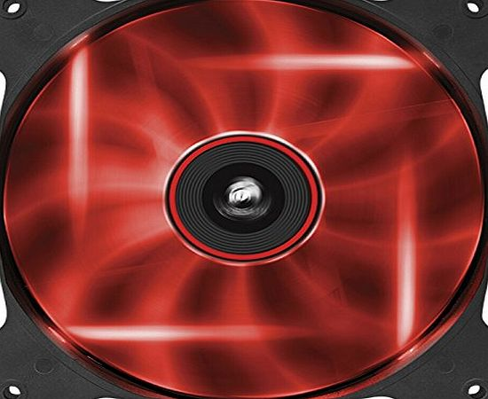 Corsair Air Series AF140-LED 140mm Quiet Edition High Airflow LED Fan - Red (Single Pack)