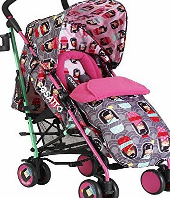 Cosatto  Supa Stroller Pushchairs (Kokeshi Smile)