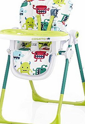 Cosatto Noodle Supa Highchair-Monster Mash 2