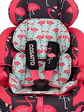 Cosatto Zoomi 123 Car Seat Flamingo Fling 2015
