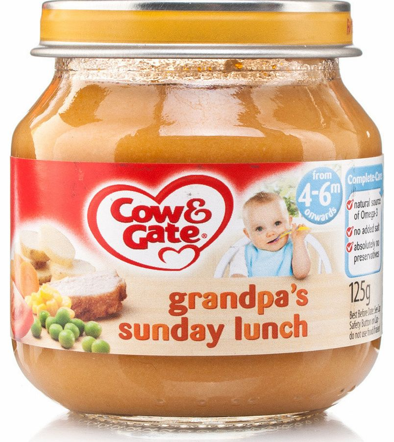 Stage 1 Baby Balance Sunday Lunch Jar