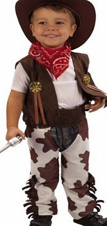 Cowboy Fancy Dress Toddler Costume Age 3