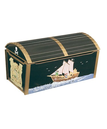 Craft Furniture PIRATE TOY BOX