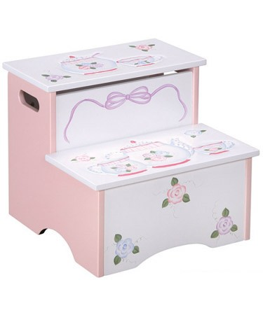 Craft Furniture Tea Party Storage Step-Up