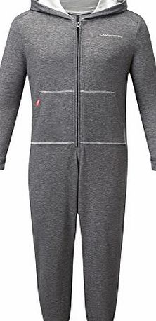 Craghoppers Childrens, Boys, Girls, Kids Nosilife (Insect Repellent) Oniko All In One Onesie (Black Pepper, 9 - 10 years)