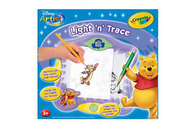 crayola Disney Winnie the Pooh Light and Trace