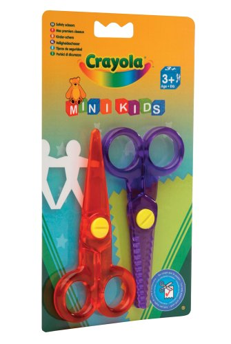 Crayola Safety Scissors (2 Pack)