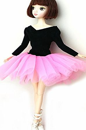 Creation Royalty Princess Party Dress/Clothes/Gown clothing custome For Barbie Doll 11by CreaTion (Pink)