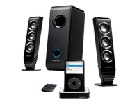 I-Trigue 3000i - PC multimedia speaker system with iPod dock