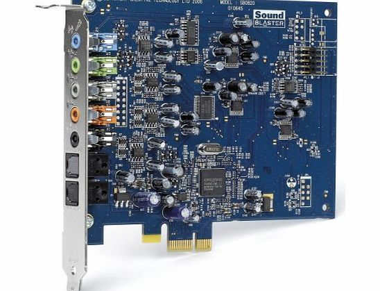 Creative Labs Creative Sound Blaster X-Fi Xtreme Audio PCI Express Sound Card