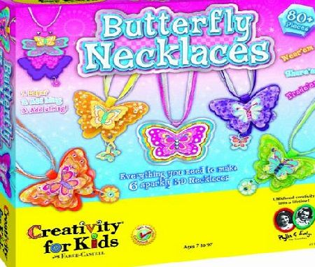 Creativity for Kids - Kit Butterfly Necklaces