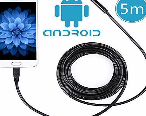 Crenova iScope Android Smartphone USB Endoscope 2.0 Megapixel CMOS HD Handheld Borescope Digital Waterproof Inspection Camera Snake Camera for Samsung Galaxy/Note/SONY/Nexus/Android system with OTG f