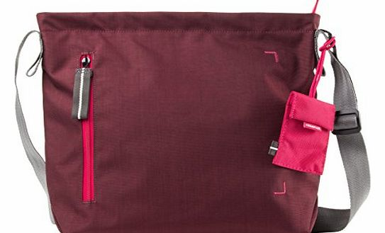 Doozie Shoulder S - Ladies Shoulder Bag 9.7`` Tablet / iPad - red wine / deep pink - DZS-S-005