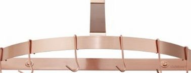 Cuisinart CRHC-22PCP Chefs Classic Half-Circle Wall-Mount Pot Rack, Polished Copper