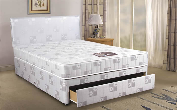 Cumfilux beds ortholux 4ft small double divan bed review for Small double divan bed and mattress