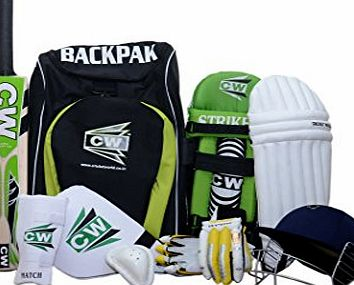 CW Cricket Kit With Accessories Senior Size