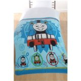 Thomas The Tank Engine TRACK STAR Fleece throw blanket 125 x 150 cm