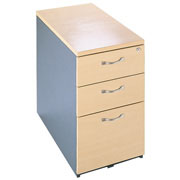 3-Drawer Desk End Pedestal