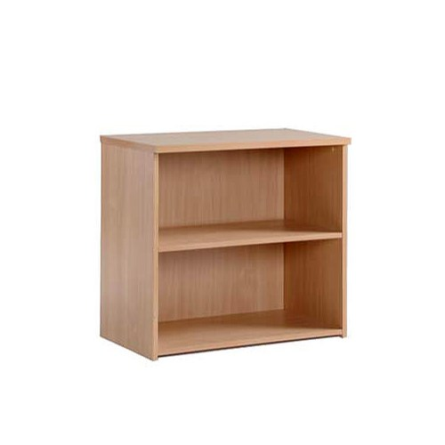 Dams Furniture Momento Low Bookcase in Beech